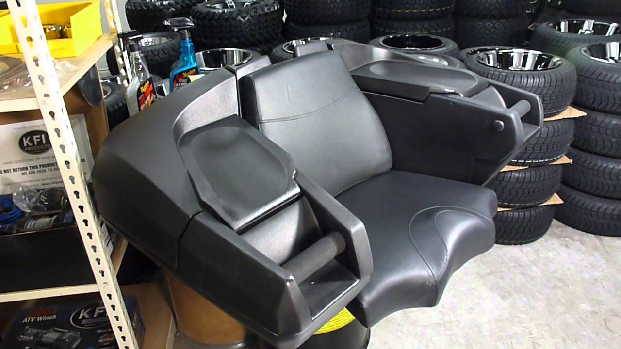 Kolpin Atv Rear Lounger W Helmet Storage 4438 Gearup2go Com Review By Gearup2go
