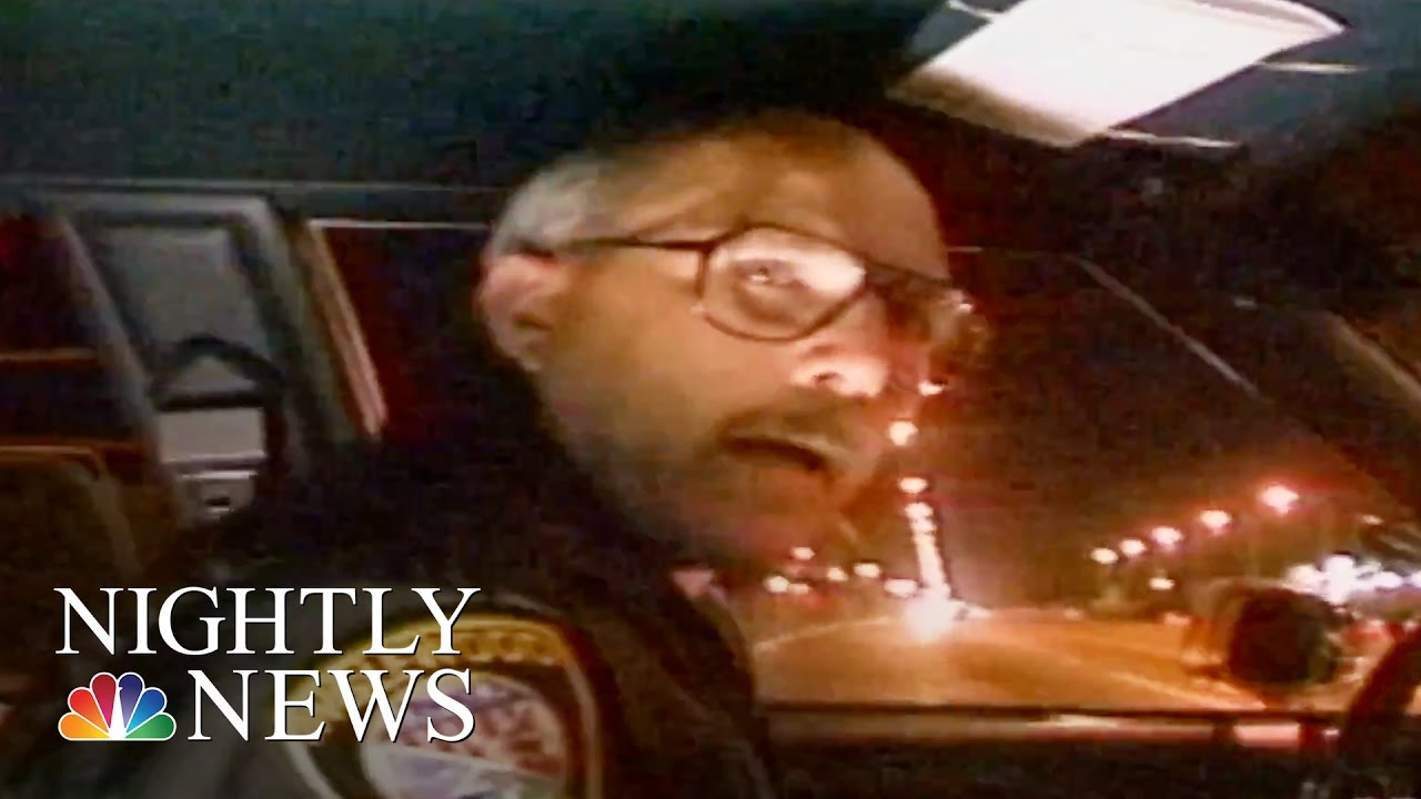 Ride Along With A Police Officer During The LA Riots | NBC Nightly News