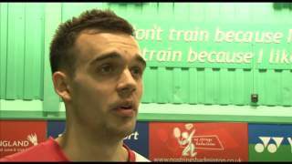 Chris Adcock Interview on the 2013 Yonex All-England