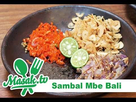 Sambal Mbe Bali oleh chef Henry Bloem