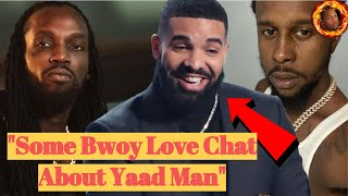 """Drake Respond To Mavado """"DISSING HIM ABOUT BEING A YARD MAN"""" At Popcaan Fixtape Launch