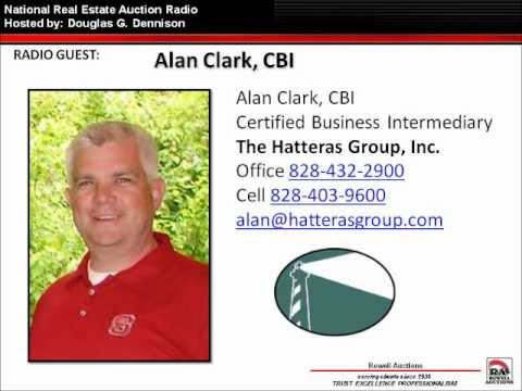 Jere Daye and Alan Clark talk Auctions & Business Brokerage