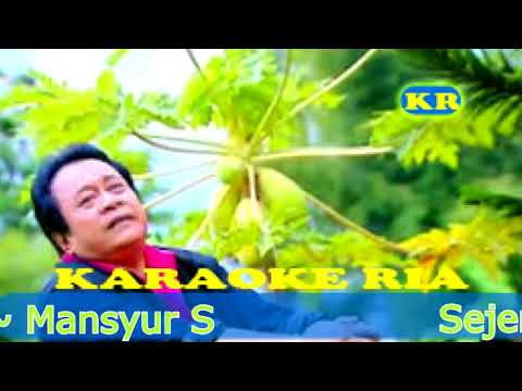 Sejengkal Tanah ~ Mansyur S (Karaoke Dangdut Lawas)