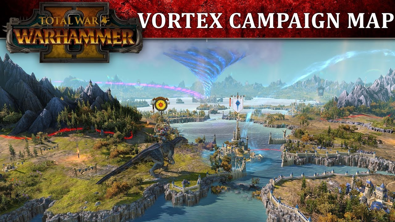 Total War: WARHAMMER 2 - Vortex Campaign Map Full Reveal Gameplay