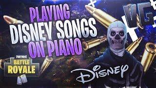 Playing Disney Songs on Fortnite!