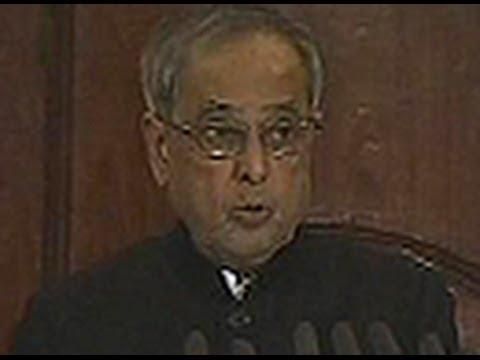 President Pranab Mukherjee outlines PM Narendra Modi agenda