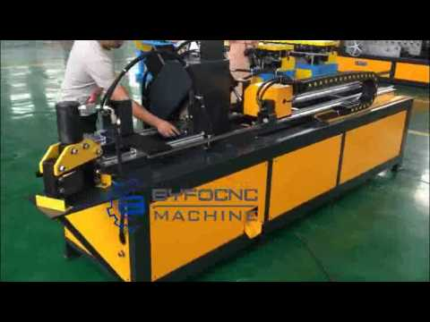 Angle flange automatic punching and cutting machine for ductwork