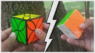 PENTACLE & CLOVER cube by QiYi Mofangge | Review En Español
