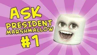 Annoying Orange - Ask President Marshmallow #1