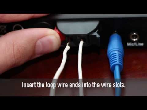 Connecting your TV to a Home Induction Loop System
