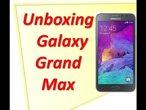 Samsung Galaxy Grand Max Unboxing en Español