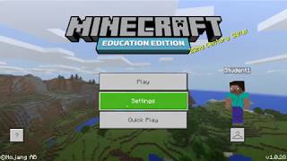Minecraft Education Edition Wiki - Woxy