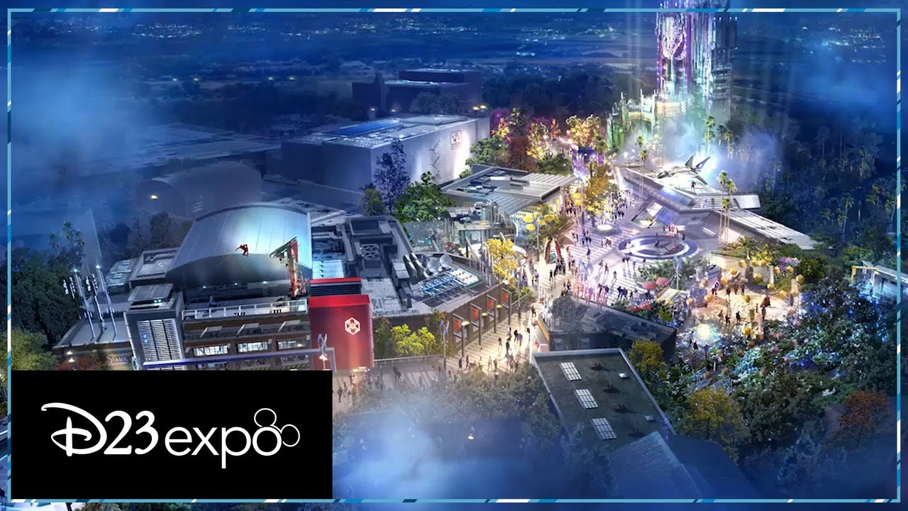 Disneyland's Avengers Campus Is A Technological Marvel That ...
