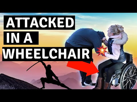 ♿️SELF DEFENCE IN A WHEELCHAIR