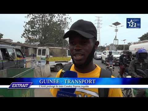 GUINÉE - TRANSPORT : l'arrêt prolongé du train Conakry Express inquiète.