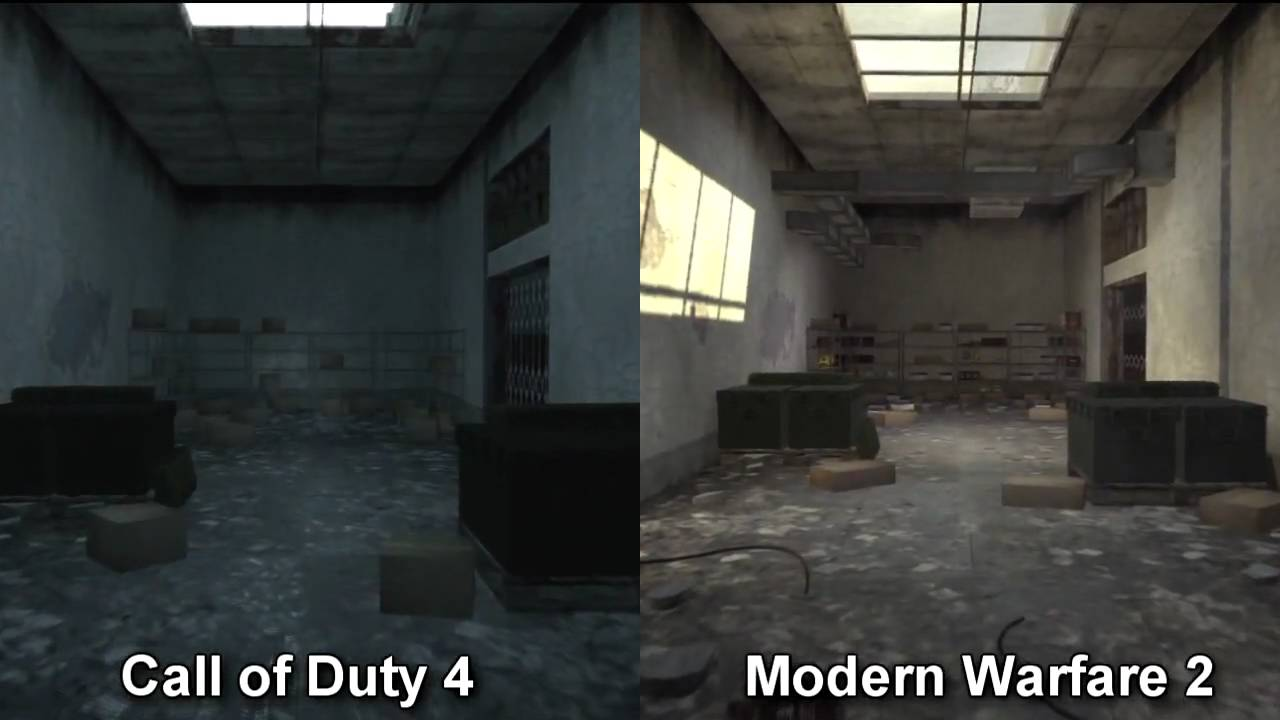 Video - Call of duty Modern Warfare 2 Resurgence map pack comparison on