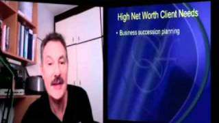 Financial Services - How to sell to high net worth clients