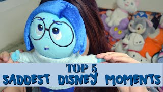 TOP 5 Disney Saddest Crying Moments