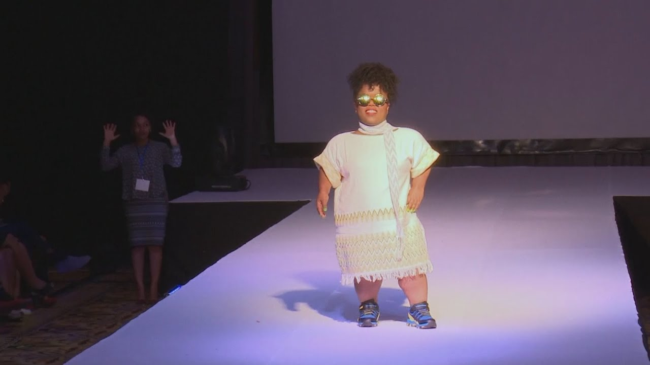 A new fashion show proves a success in Ethiopia, as it caters for people with disabilities