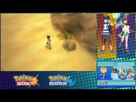 Pokemon: Sun and Moon Haina Desert Directions