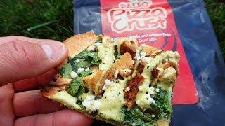 Primal Chicken Spinach & Avocado Ranch Pizza