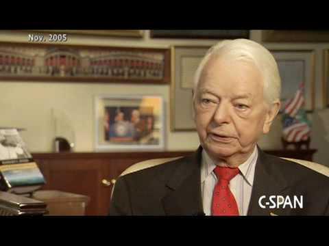 Sen. Robert Byrd on what he would advise a new Senator