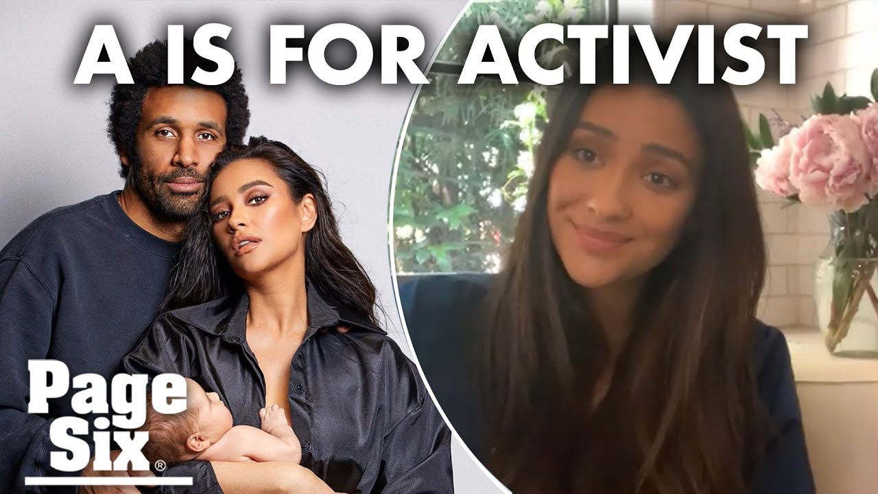 Shay Mitchell talks to daughter about Black Lives Matter | Page Six Celebrity News