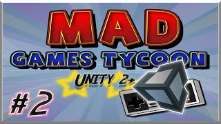 Mad Games Tycoon #2 Unity 2+ [FR]