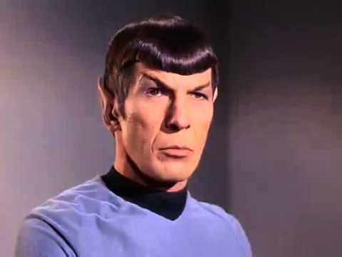 spock s eyebrow rise star trek youtube