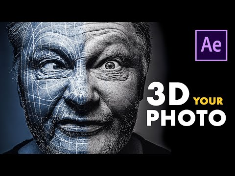 3D Animate Your Photo In Adobe After Effects!