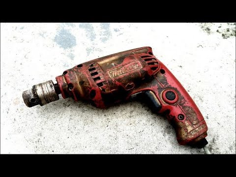 Restoration multi-function electric drill | Restore old rusty MAKITA JAPAN  electric drill