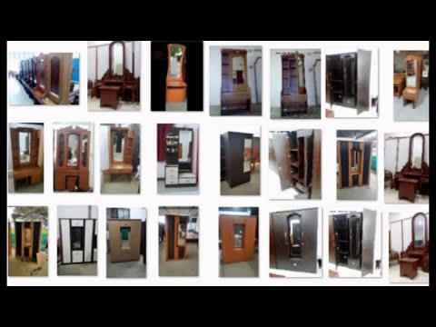Dressing table with wardrobe from Erode Steel Furniture, Gobichettipalayam, Tamilnadu