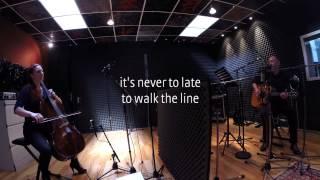"""MELTING"" BOB DOUBLE U voice, guitar & STEFANIE JOHN cello @ STUDIO X BERLIN"