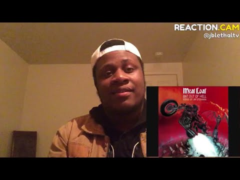 Meat Loaf - Bat Out of Hell Reaction