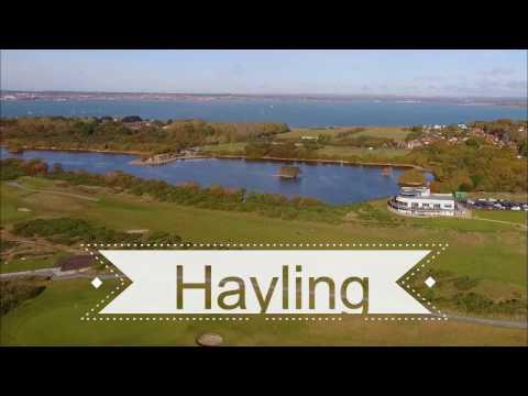 Hayling Island by Drone DJI Phantom 3 Advanced