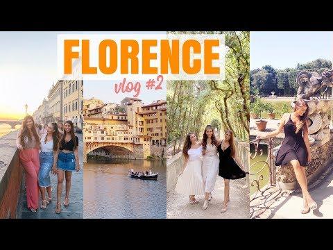 Florence, Italy | Firenze And Boboli Gardens Vlog