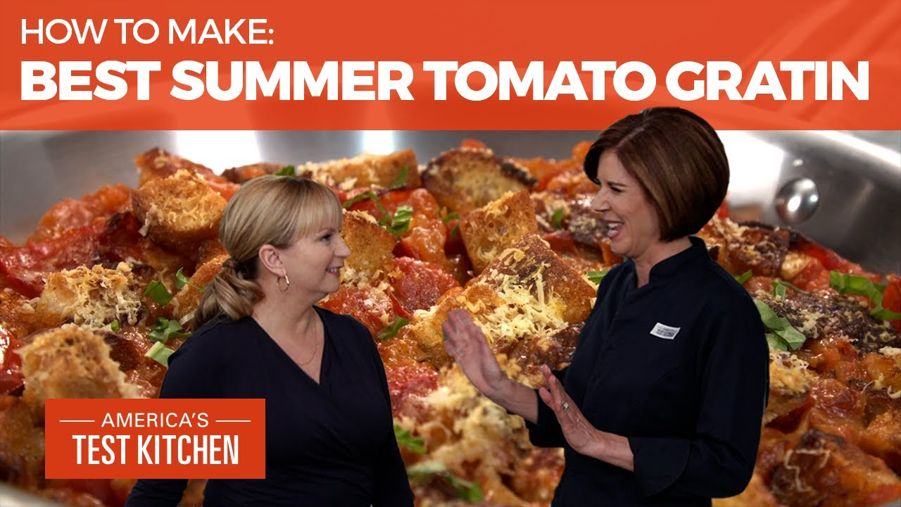How to Make the Best Summer Tomato Gratin