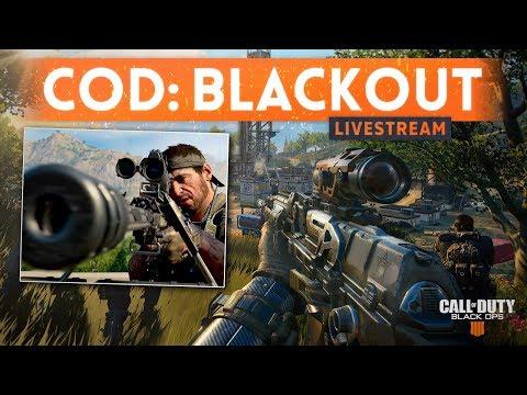 CALL OF DUTY BLACKOUT PC Beta Stream! (Battle Royale)