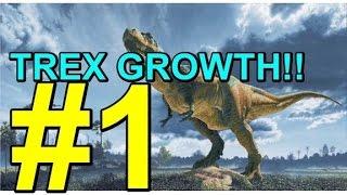 """ROBLOX - Dinosaurierleben - """"TREX WACHSTUM!"""" Teil 1"""
