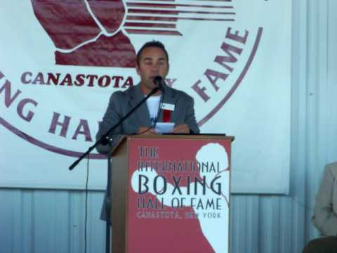 2009 International Boxing Hall Of Fame: Brian Mitchell