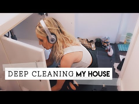 Deep Clean My House with Me || CLEANING MOTIVATION