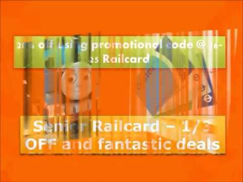 Railcard Promotional Code - Save Travel Cost with Railcard Promotional Code