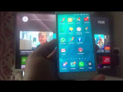 Screen Mirroring / Cast Samsung Android Mobile Phone To Smart TV |  Connect Android Phone To Sony TV