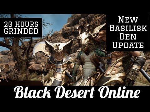 Black Desert Online [BDO] Basilisk Den Guide - Silver Breakdown (20 Hours)