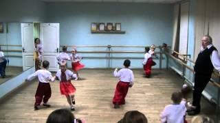 Первый открытый урок - танцы часть2