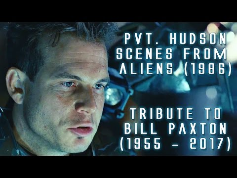 Pvt. Hudson scenes from Aliens in HD (Tribute to Bill Paxton)