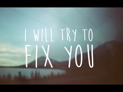 Coldplay - Fix you ( Consolarti ) testo & traduzione ITA
