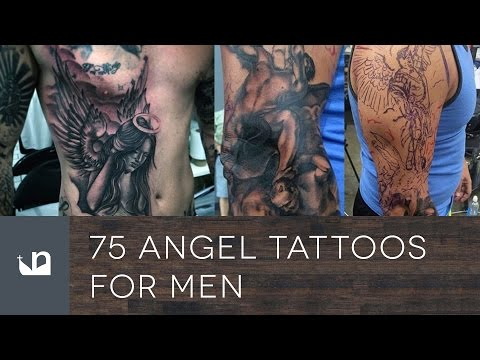 75 Angel Tattoos For Men