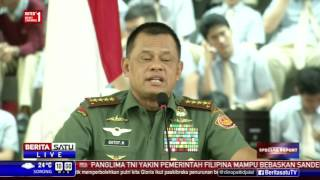 Kuliah Umum Panglima TNI Gatot Nurmantyo di UPH