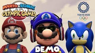 SEGA HAD 4 YEARS... | Mario & Sonic at the Olympic Games Tokyo 2020 DEMO